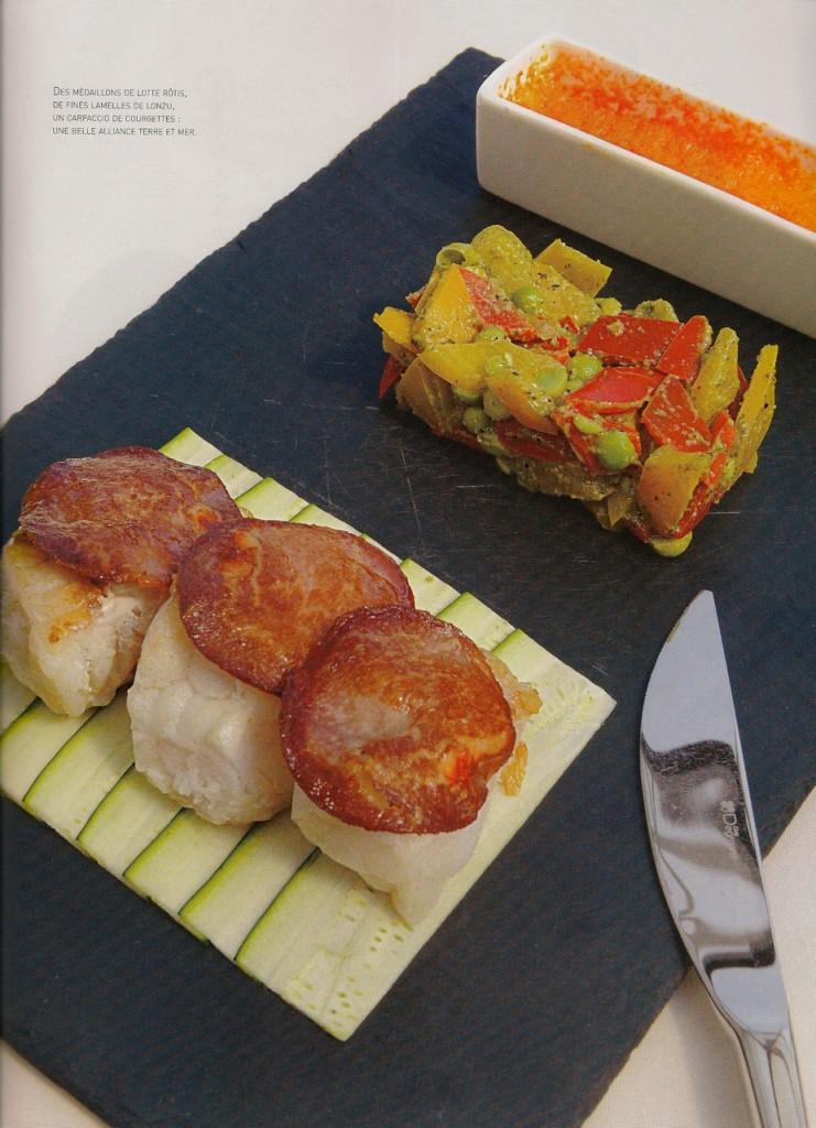 Lotte - Chorizo - Légumes
