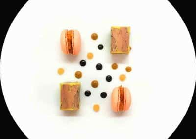 Foie gras nèfle-oursin