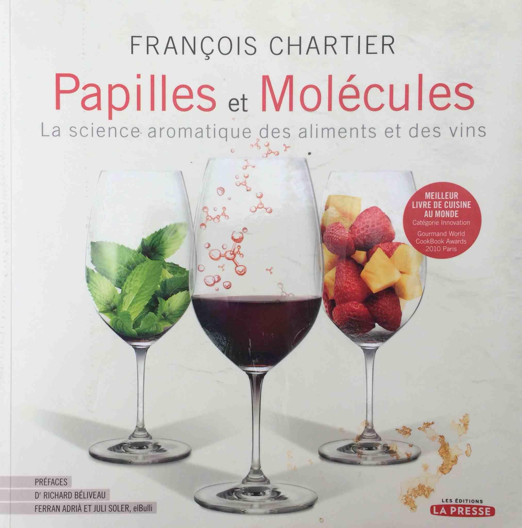 «Papilles et Molécules» : le livre de la semaine