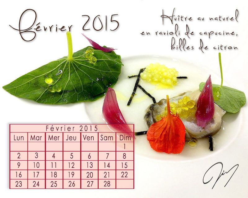 Calendrier Gourmand : Février 2015
