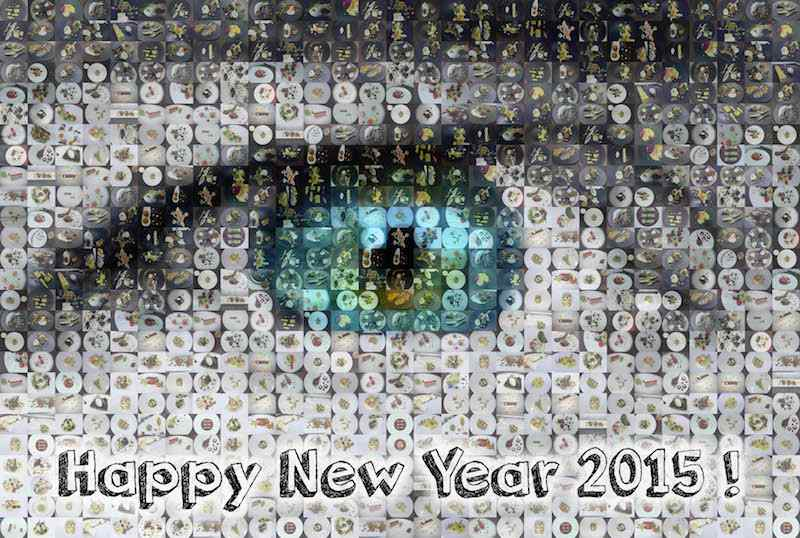 Meilleurs Vœux pour 2015 !