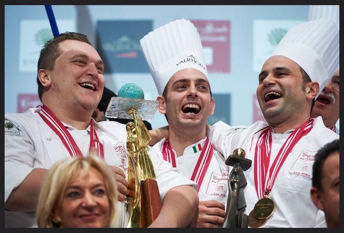 Coupe du Monde de Pâtisserie 2015 : Forza Italia !
