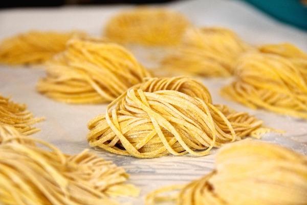 Les Pâtes Fraîches : Tagliatelles et Tagliolini