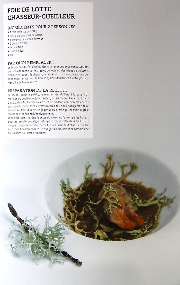 Un recette à base de Lichen