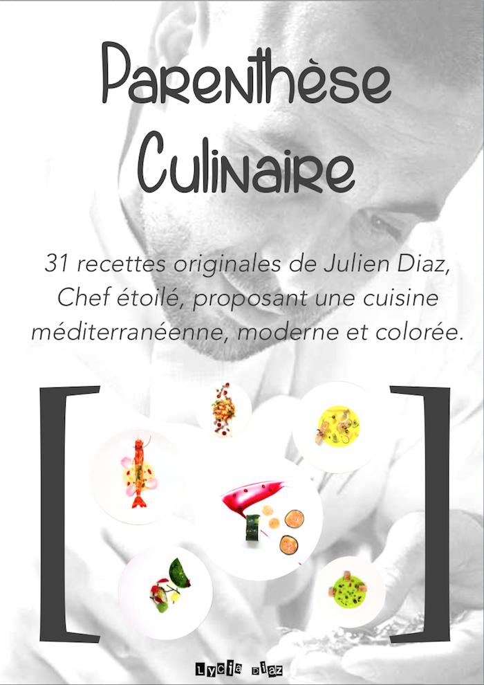 Mon ebook «Parenthèse Culinaire» disponible partout !