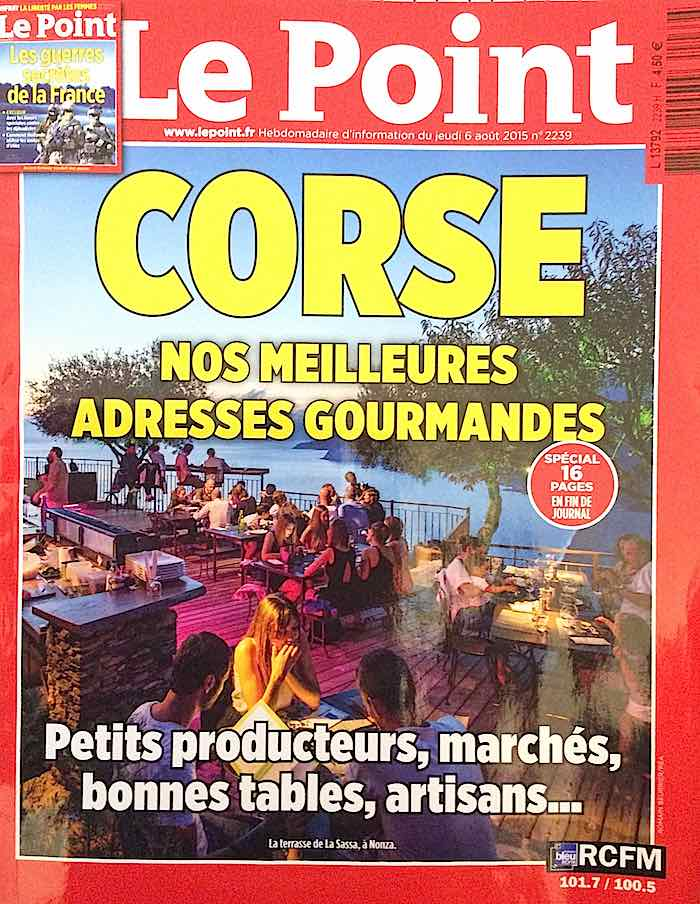 Couverture du magazine Le Point numero 2239