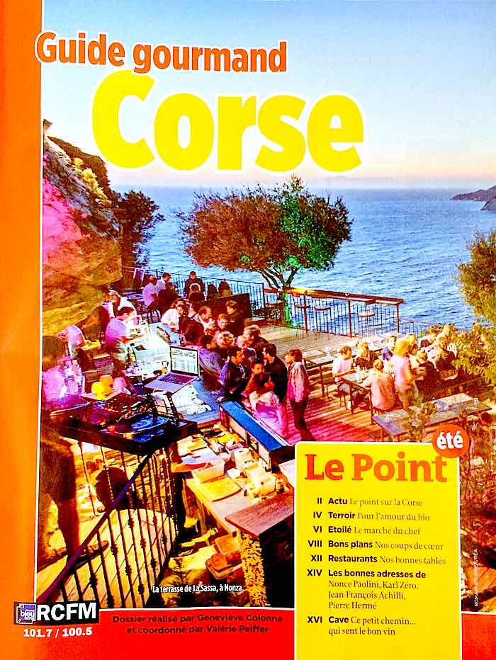 Guide Gourmand Corse Le Point