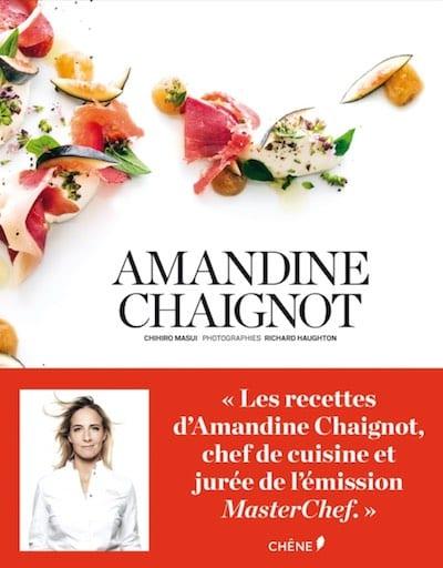 Livre Amandine Chaignot - Cadeau de Noël