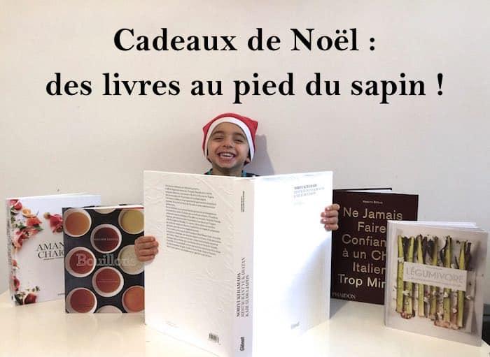 Cadeaux de Noël : des livres au pied du sapin !