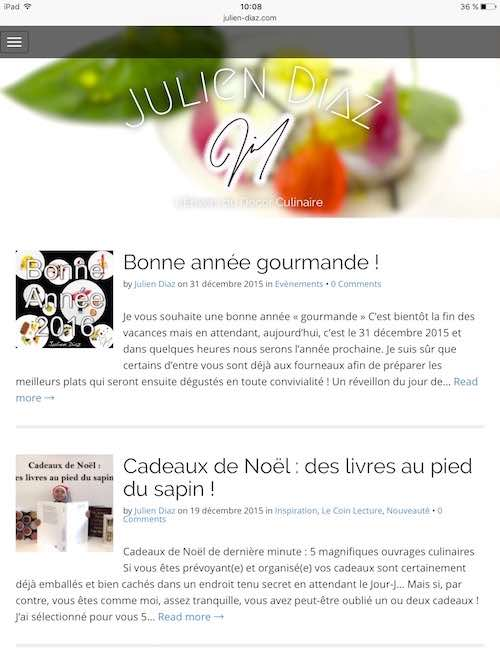 Blog ancienne version