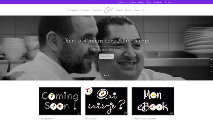 Le nouveau blog - accueil