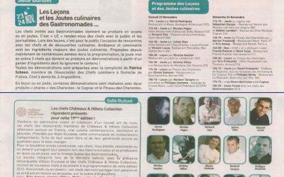 Les Gastronomades d'Angoulême – Nov. 2013