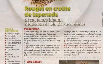 TV Magazine – Alain Ducasse – 2013